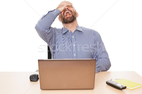 crying man Stock photo © magann