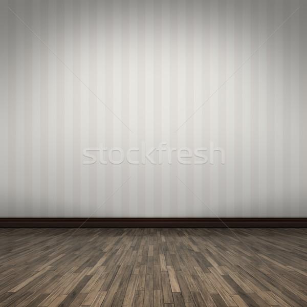 Lege kamer eigen inhoud huis hout abstract Stockfoto © magann