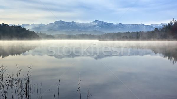 изображение красивой Альпы Пасху облака природы Сток-фото © magann
