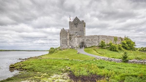 Kasteel Ierland hdr afbeelding muur zomer Stockfoto © magann