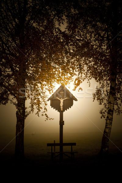 cross in bavaria Stock photo © magann