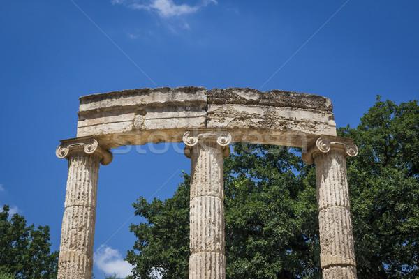 Греция изображение известный наследие спорт спортивных Сток-фото © magann