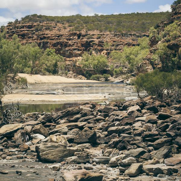 Ouest Australie image magnifique sauvage ciel Photo stock © magann