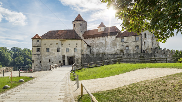 the castle of Burghausen Bavaria Germany Stock photo © magann