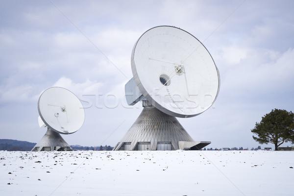2 衛星 料理 ドイツ 画像 ストックフォト © magann