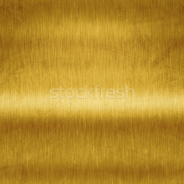 brushed gold  Stock photo © magann