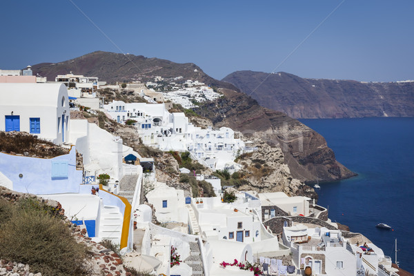 サントリーニ ギリシャ 画像 いい 表示 空 ストックフォト © magann