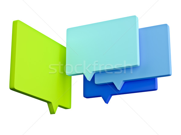 speech bubbles Stock photo © magann