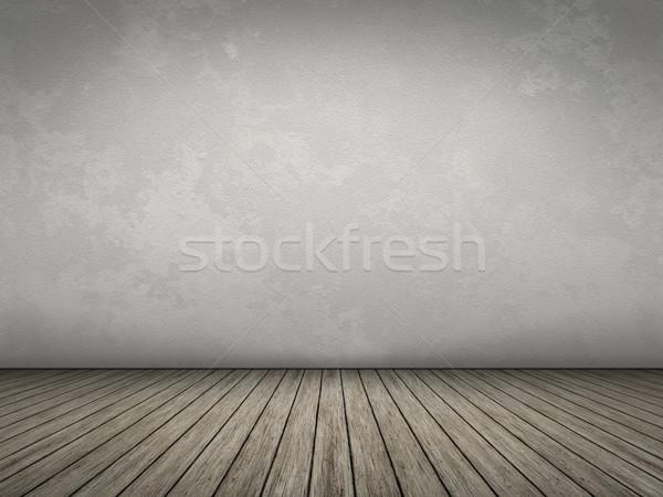 Quarto vazio próprio conteúdo casa textura parede Foto stock © magann