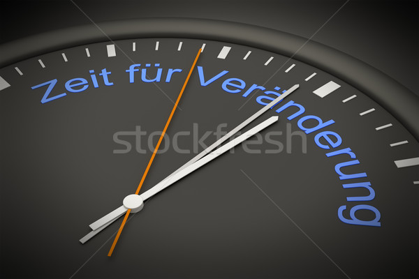 time for change Stock photo © magann