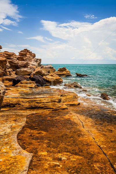 Australië afbeelding mooie landschap strand water Stockfoto © magann