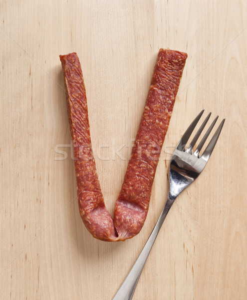 german sausage Stock photo © magann
