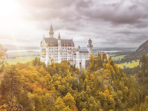 castle Neuschwanstein in Bavaria Germany Stock photo © magann