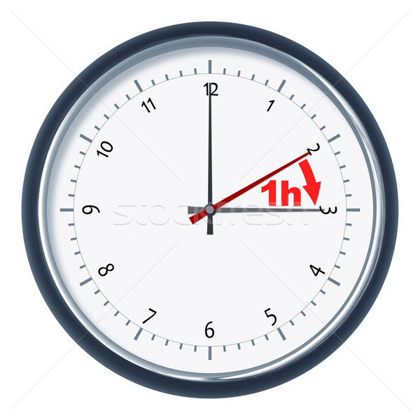 daylight saving time Stock photo © magann