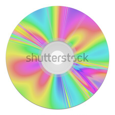 nice colors cd rom Stock photo © magann