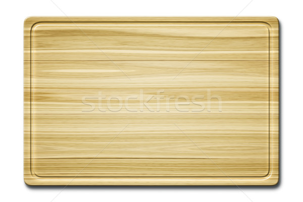 wooden cutting board Stock photo © magann