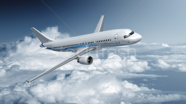 Airplane Stock photo © magann