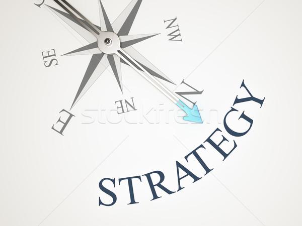 Pusula görüntü güzel kelime strateji arka plan Stok fotoğraf © magann