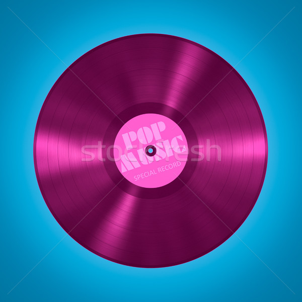 vinyl record pop music Stock photo © magann