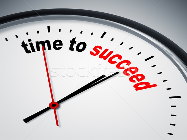 time to succeed Stock photo © magann
