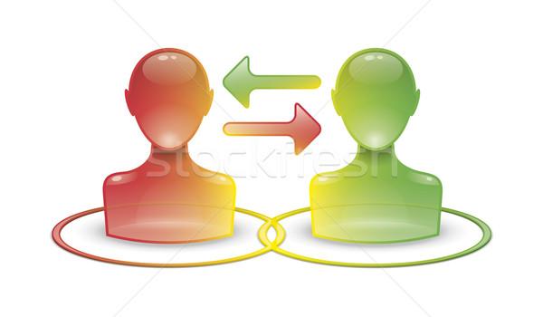 communication icon Stock photo © magann