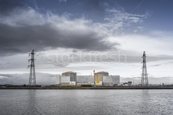 the very old pressurized water reactor at Fessenheim France at t Stock photo © magann