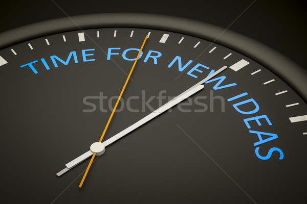 time for new ideas Stock photo © magann