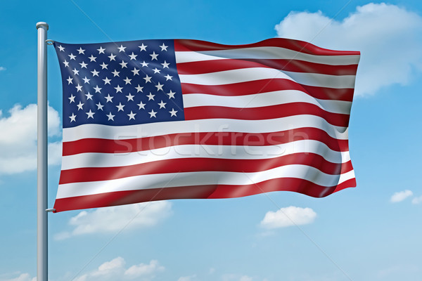 United States of America flag Stock photo © magann