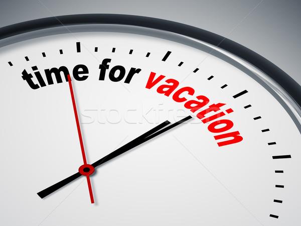 Stock fotó: Idő · vakáció · kép · szép · óra · üzlet