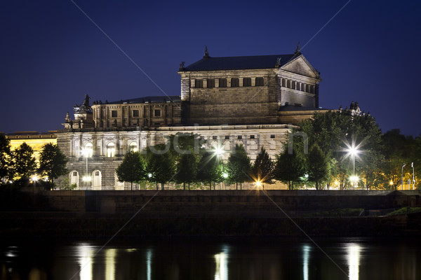 Semper Oper by night Stock photo © magann