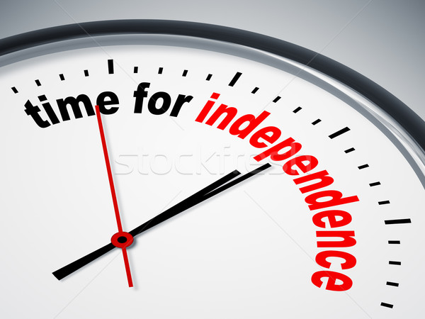 time for independence Stock photo © magann