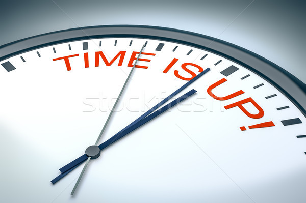 time is up! Stock photo © magann