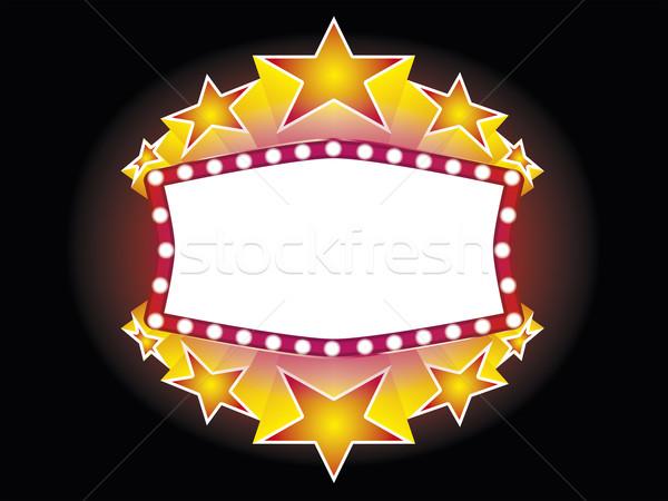 neon sign Stock photo © magann