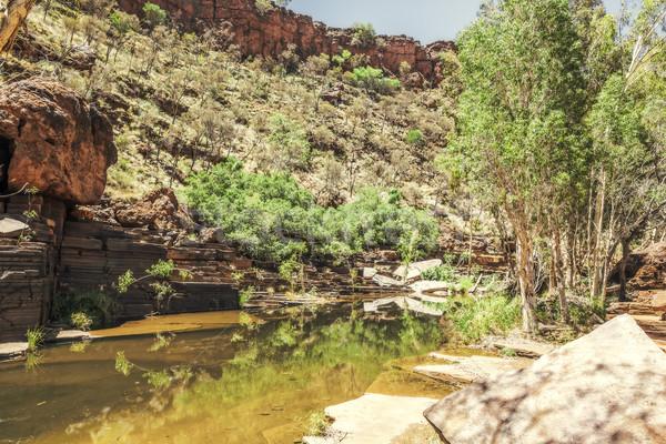 Dales Gorge Australia Stock photo © magann