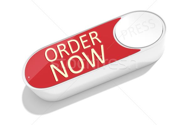 Düğme sipariş işler Internet 3D Stok fotoğraf © magann