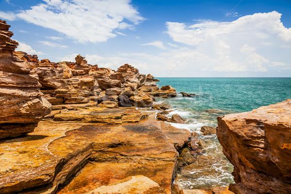 Austrália imagem bom paisagem praia água Foto stock © magann