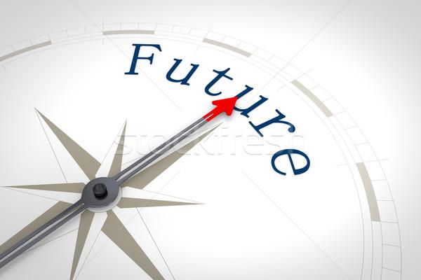 Stock photo: Compass Future