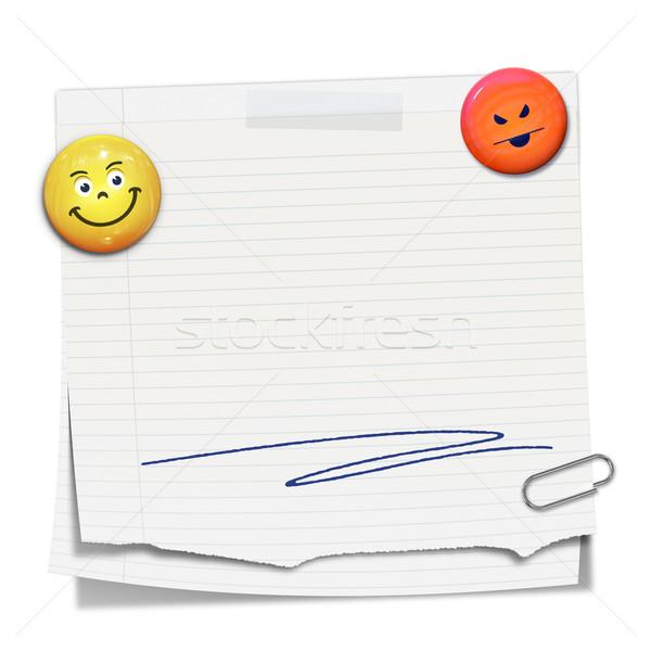 sticky paper Stock photo © magann