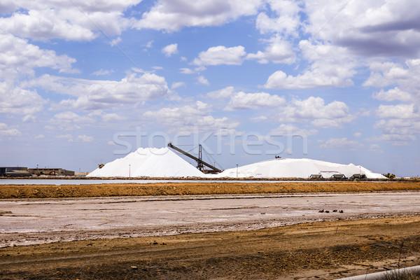 salt in Port Headland Australia Stock photo © magann