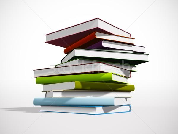 книгах изображение Nice бумаги книга Сток-фото © magann
