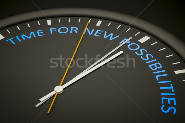 time for new possibilities Stock photo © magann
