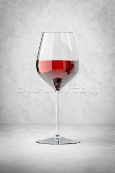 glass of red wine Stock photo © magann