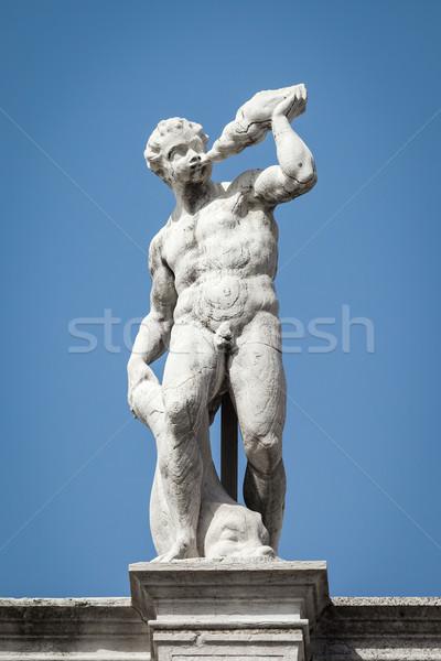 sculpture Venice Stock photo © magann