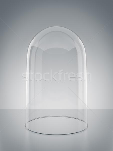 Cupola vuota immagine vetro sicurezza digitale Foto d'archivio © magann