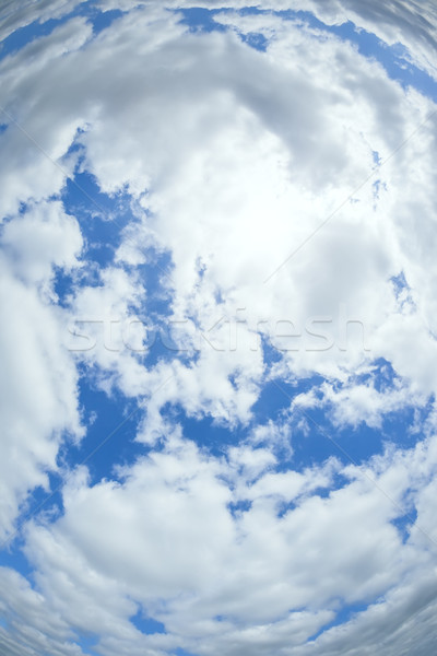 radial sky Stock photo © magann