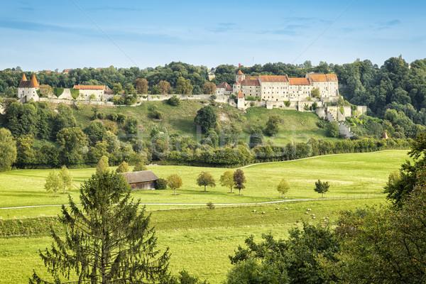 Castle Burghausen Stock photo © magann