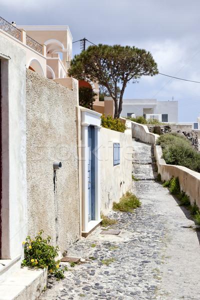 Santorini kép szép kilátás épület természet Stock fotó © magann