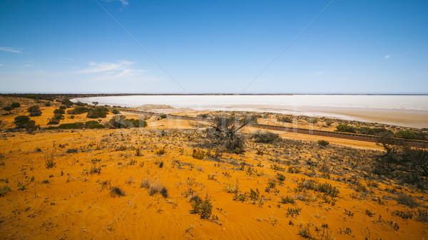 dry lake Australia Stock photo © magann