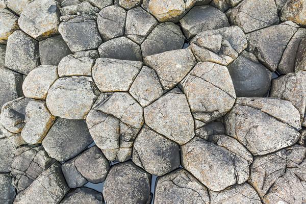 Riese Bild grau Stein Textur Natur Stock foto © magann