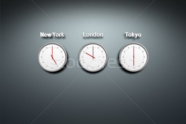 world time Stock photo © magann